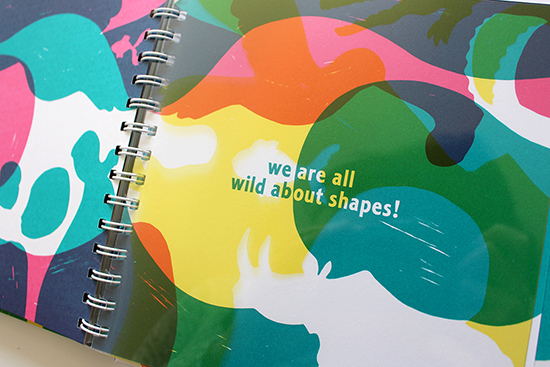 Wild About Shapes children's book