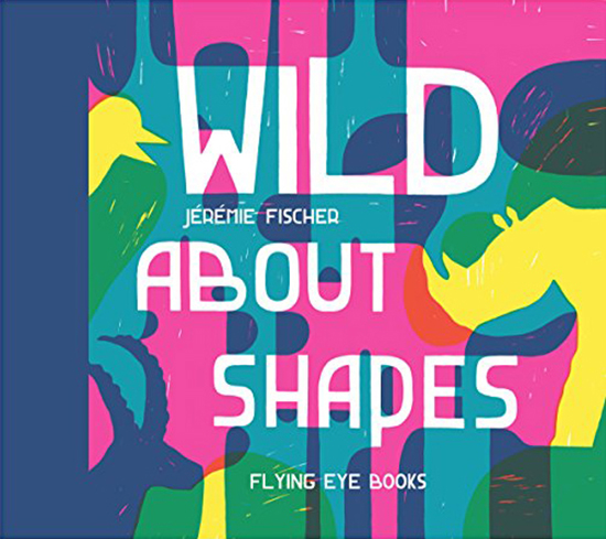 Wild About Shapes Childrens Book - Discovery books - Shapes for Preschoolers | Small for Big