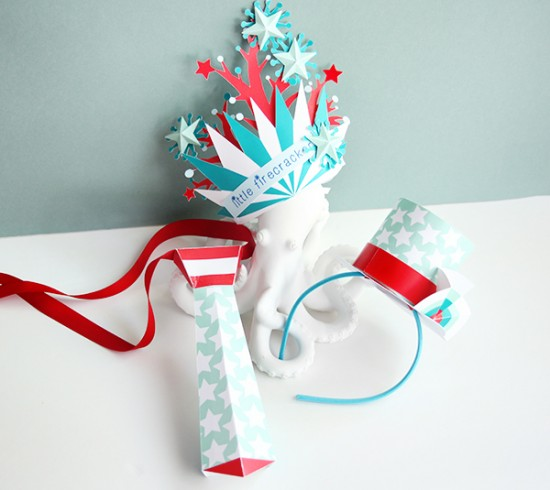 July 4th Crafts for Kids - Printable Paper Crafts - Cricut Crafts for Kids   Small for Big
