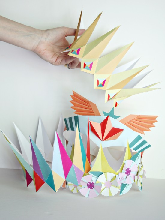 diy printable paper crowns - birthday crown party favors