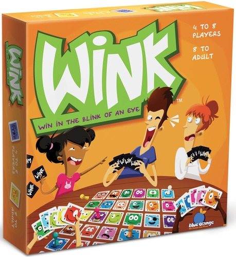 Wink Game - Perfect for Family Game night - New Game full of Laughter | Small for Big