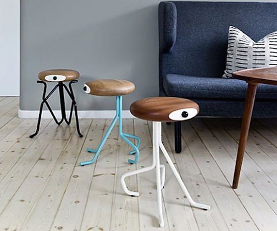 compatriot stool - anthropomorphized furniture - monster stools