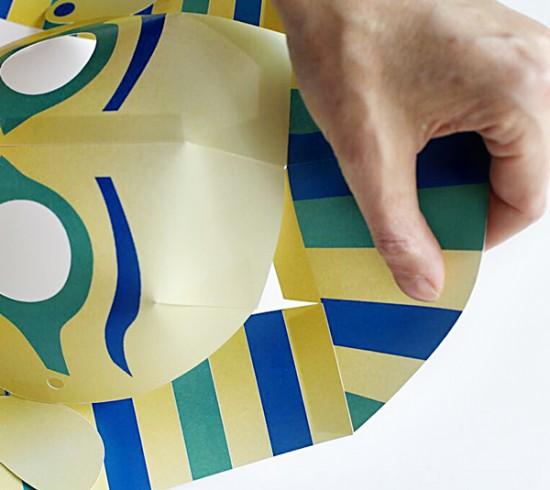 King Tut Printable Mask for Kids with Cricut