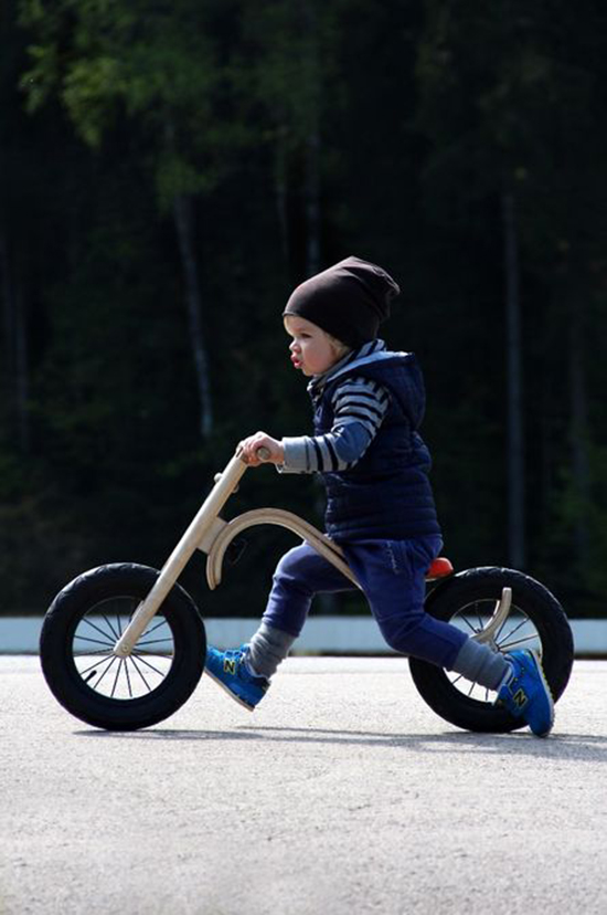 Leg&Go Balance Bike - Wooden Balance Bike System - Kickstarter Kids | Small for Big