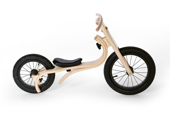 Leg&Go wooden balance bike on kickstarter
