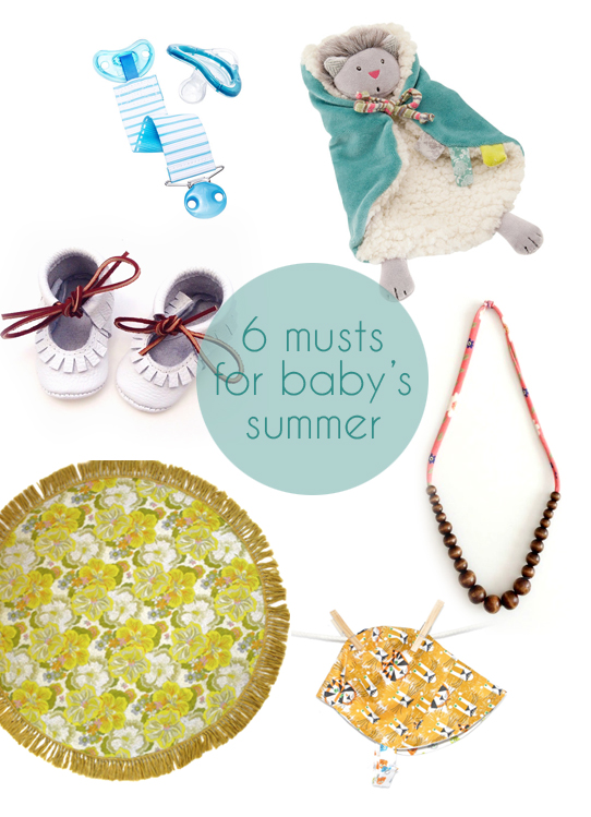 6 baby must-haves for summer