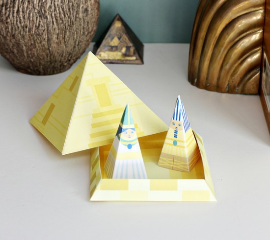 Egyptian Crafts for Kids – Egyptian Printable Paper Crafts with ...