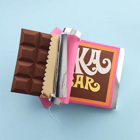 Willy Wonka Ilustration - Belinda Rodriguez - Paper Art | Small for Big