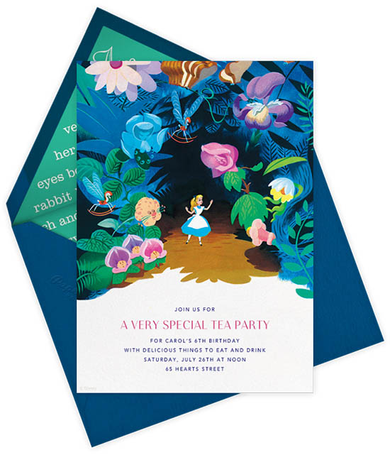 Paperless Post Invitations - Disney Invitations - Kids Birthday Invites | Small for Big