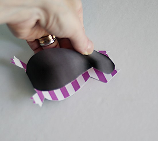 DIY Halloween Bat Mobile - 3D paper Crafts Printables - Halloween decor crafts