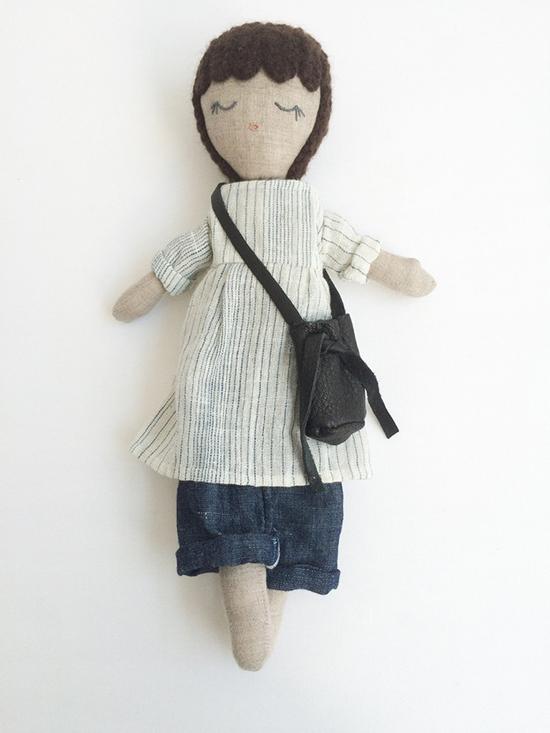 kathryn davey dolls - handmade eco-friendly dolls - modern pirate dolls