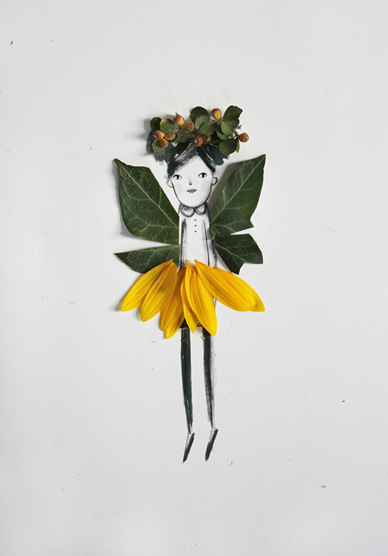 DIY Nature Crafts - Make Your Own Flower Fairies - Mer Mag Blog Craft   Small for Big