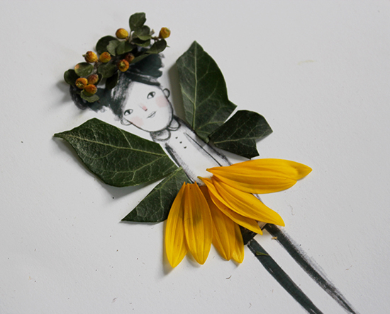 DIY Nature Craft - Make and Decorate your own Flower Fairy Dolls - Mer Mag Blog