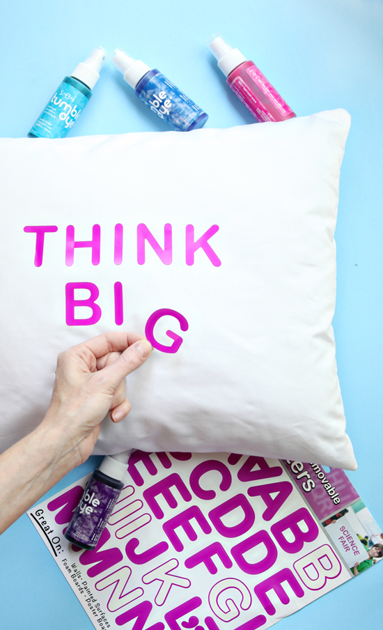 DIY Quote PIllow - Easy Crafts for Kids - How to Make a Quote Pillow