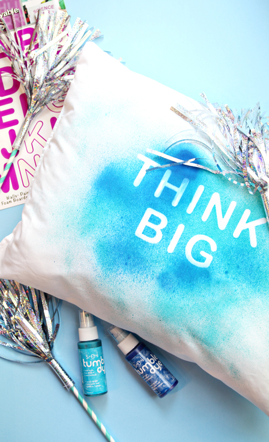 DIY Pillow with Quote -Easy Crafts for Kids - How to Make a Quote Pillow | Small for Big
