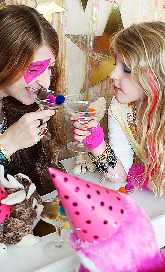 jem and the holograms rockstar party for girls
