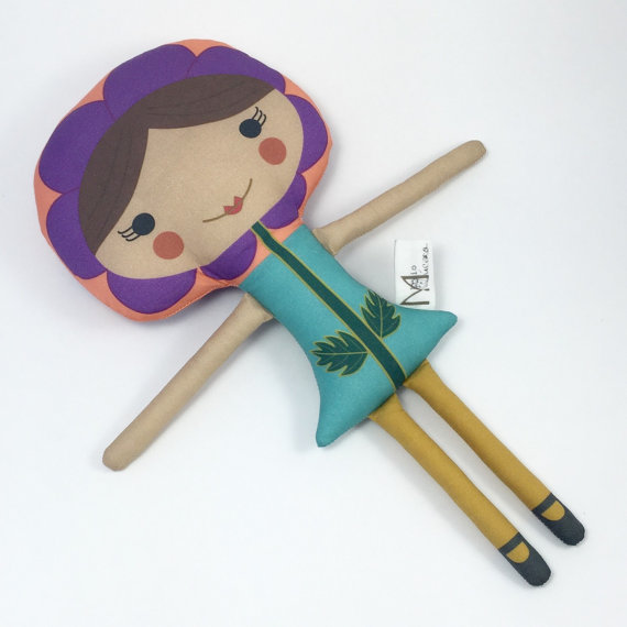 Mio Mucaro Creatures - Handmade Dolls on Etsy - Eco-friendly Toys | Small for Big