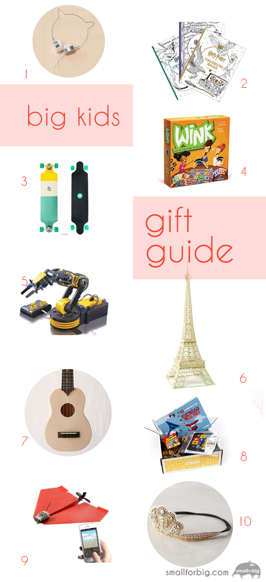 Best Gifts for Kids - Holiday top 10 Gifts - Christmas Gifts for Tweens | Small for Big