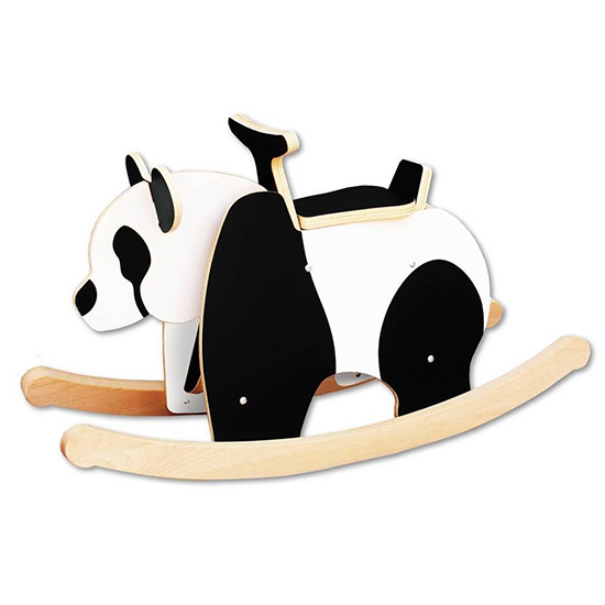 Rocking panda Wooden Rocker Toy for Babies and Toddlers