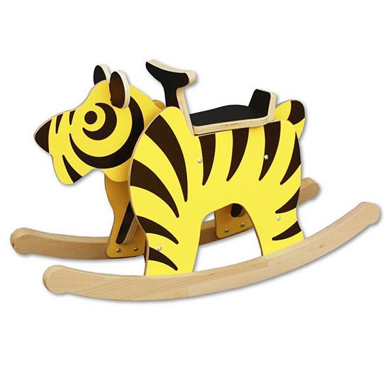 Rocking tiger Wooden Rocker Toy for Babies and Toddlers