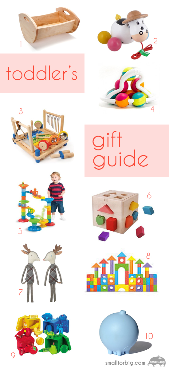 Toddler Gift Guide - Best Toys for Toddlers - Holiday Christmas Gifts for Kids | Small for Big