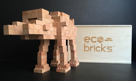 Eco Bricks Wooden Lego Building Bricks Eco
