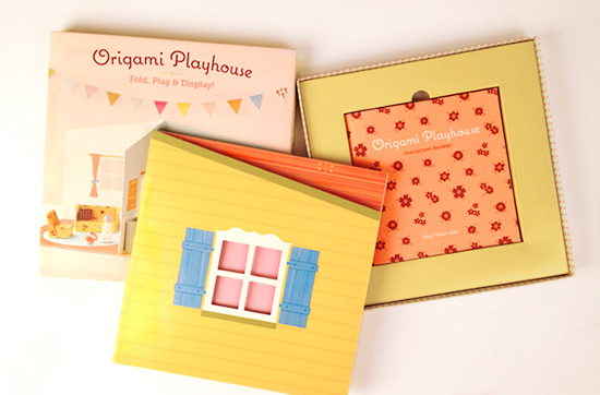 Origami Playhouse How To Make Paper Dollhouses For Kids