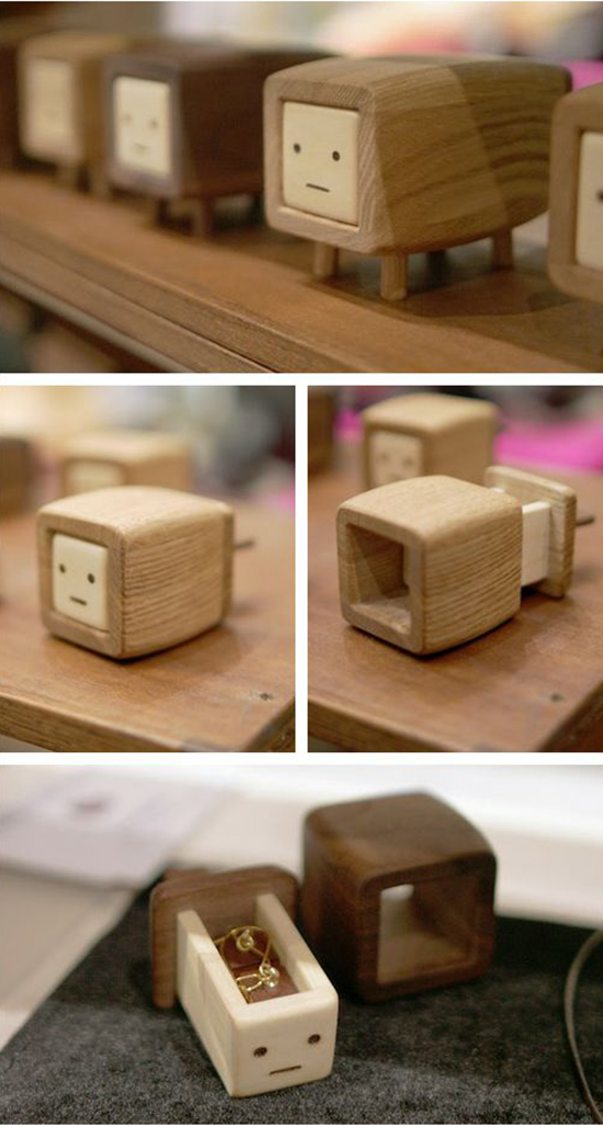 ChibiDashi - Kawaii Wood Boxes - Playful Jewelry Boxes | Small for Big