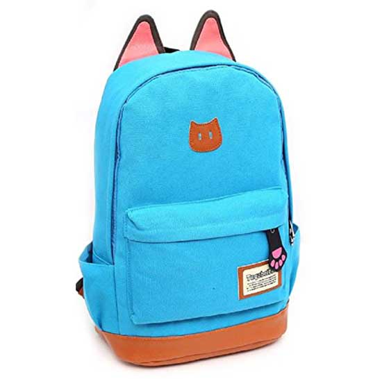 75c7b4ce129d Cat Ears Backpack – Back to School Bags – Kids Modern Backpack ...