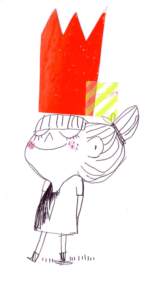 Little Girls and Crowns - Illustration - Lao Studio   Small for Big