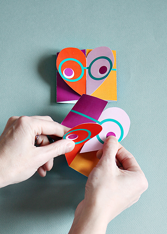 Valentinescards and printable DIY crafts for kids