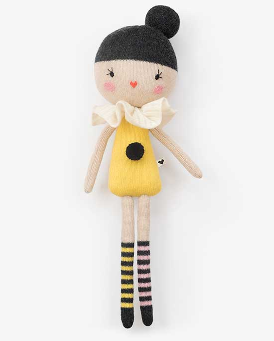 Lauvely Friends - Handknit Wool Doll - Handmade Toys for Kids | Small for Big