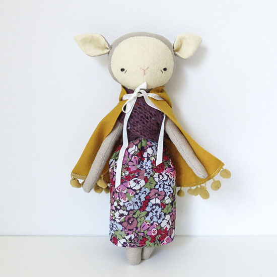 Oh Albatross Toys - Handmade Stuffed Animals - Modern Stuffed Dolls | Small for Big