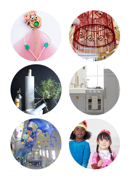 This week's top links include DIY puppets, crochet chandeliers, diy paper towel holder, kids modern kitchen, zero gravity dancing, & new pajamas.
