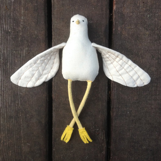 The Far Wood - Handmade Stuffed Toys - Plush Bird Toys | Small for Big