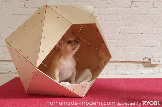 Home Made Modern Geometric Doghouse DIY Plans