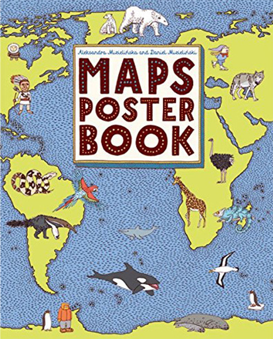 Maps Activity Book - Maps Poster Book - Educational Childrens Books | Small for Big