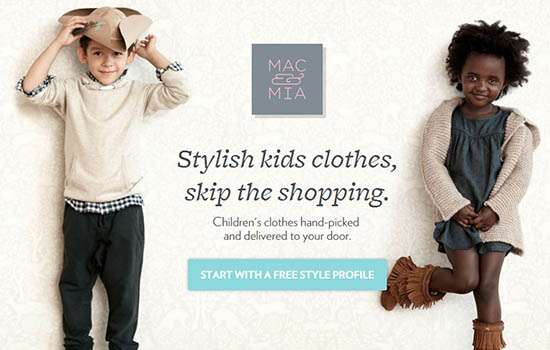mac and mia subscription box clothes, fashions, style for kids