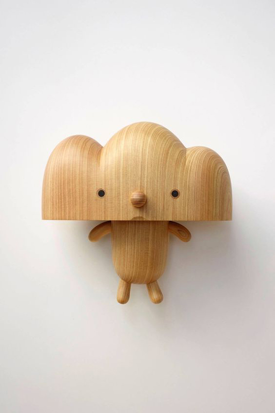 Wood Toy Figure - Cloud Man - Art Toys | Small for Big