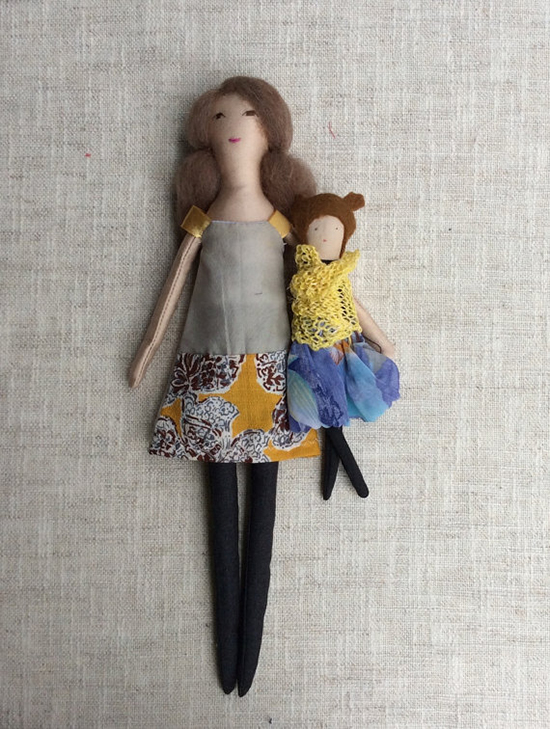 Dollisimo handmade dolls and doll clothes - mom and me dolls