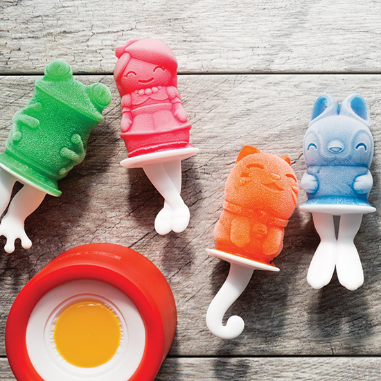 zoku ice pop molds - make your own popsicles - homemade popsicles for kids