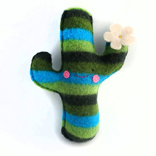 Sighfoo handmade upcycled wool stuffed toys on Etsy