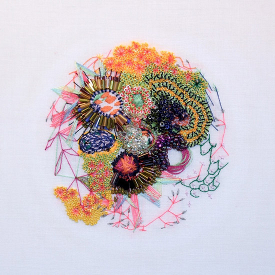 Karolin Reichardt Art - Modern Embroidery - Textile Art | Small for Big