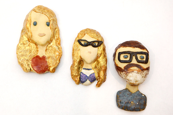Oooh Clay - Custom Family Portraits - Handmade Clay Sculptures | Small for Big