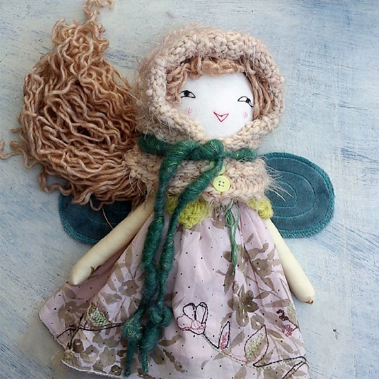 The Dolls Unique - handmade dolls with vintage details