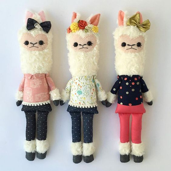 Friends Of Hadley Handmade Stuffed Animals Stuffed Llama Toys