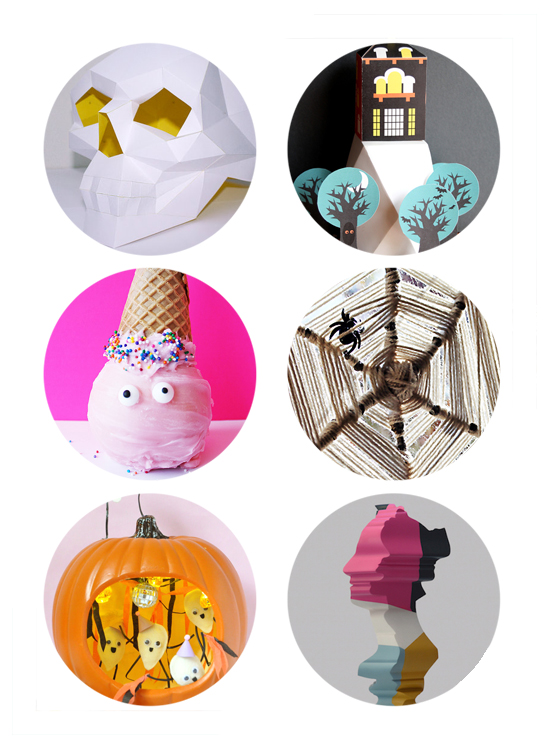 Halloween DIY Ideas - Last Minute Halloween Decorations - Halloween Crafts | Small for Big