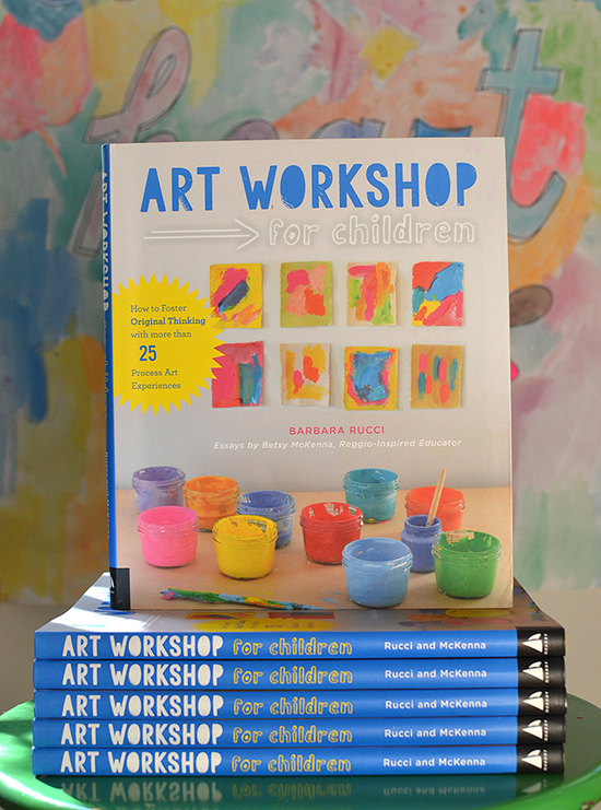 Art Workshop book - art making with kids - art projects for creative kids and parents