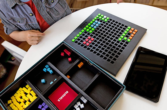 bloxels video game maker and board game for kids