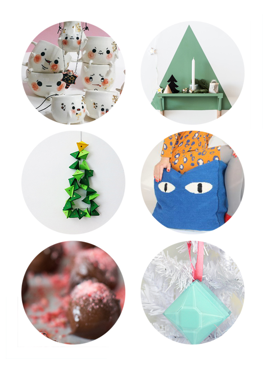 Holiday DIY - Christmas Crafts - Design Inspiration | Small for Big